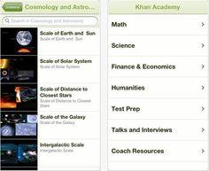 Los videos educativos de Khan Academy ya están disponibles para iPhone y iPad
