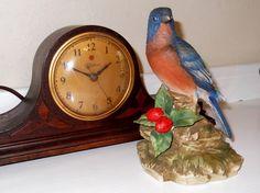 Lefton Bluebird Figurine / Vintage Lefton by SusieSellsVintage, $18.00