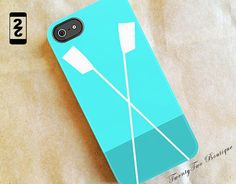 Crew/Rowing Crossed Oars iPhone 5 Case/iPhone by twenty2boutique, $38.00