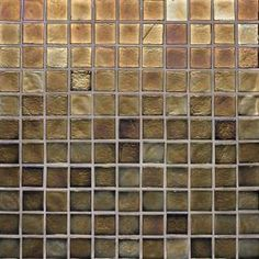 Edgewater Dusk 1 in. x 1 in. 11 3/4 in. x 11 3/4 in. Glass Floor & Wall Mosaic Tile-79394 at The Home Depot