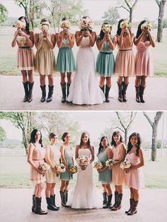Super cute bridal party pictures