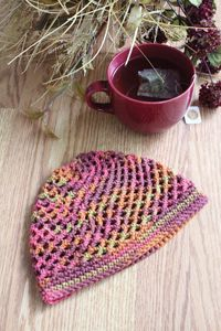 Vintage Hat - from the Fall 2014 Issue of Love of Crochet magazine  Inspired by a hat pattern from the 1960s, this lacy cap works up quickly and is a perfect one-skein project for new crocheters. Finish this beauty in one evening, and you'll have an elegant new accessory to wear the very next day!