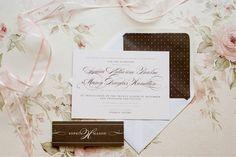 polka dot chic wedding stationery by @Rose Murphy