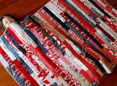 Red Strip Quilt