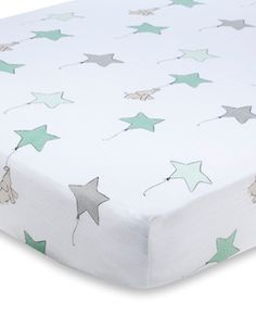 up, up & away  This sheet is so soft!  Love it!