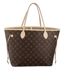 Louis Vuitton Neverfull MM $850 ~ I could def use one of these.