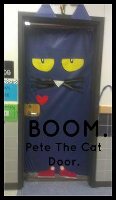 Pete the Cat Door