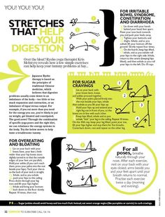 stretches that help your digestion