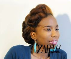 4 Styles for Long or Short 4B/4C Natural Hair