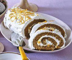 Brown Sugar Cake Roll