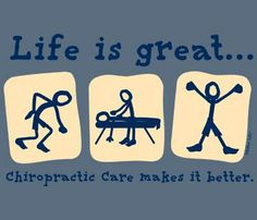 Add chiropractic to your health care..its the best natural method out there!!