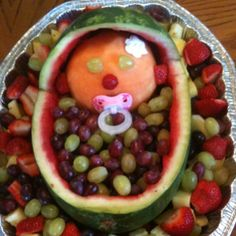 baby shower on pinterest fruit trays baby shower fruit and baby st