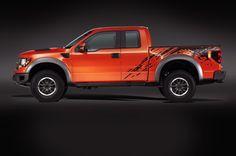 Ford F-150 SVT Raptor Side