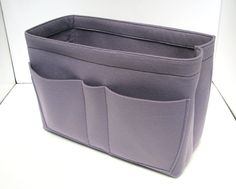 C18. Felt organizer for Celine mini luggage - size (W 11.8in H 8in D 6.3in), also for a school / baby bag, desk, car & etc.. $37.00, via Etsy.