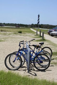 ohhhh, bikes on the outer banks.
