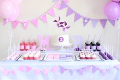 Pink and Purple twins party
