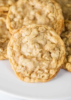 Made these... and definitely worth making again! EASY Oatmeal Cookies (Soft & Chewy!) - I Heart Naptime