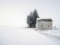 winter snow, winter cabin, open spaces, winter wonderland, classic white, barns, place, farm houses, winter house