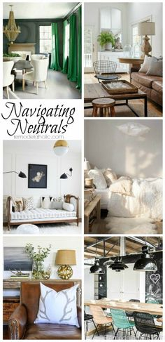 Neutral paints may s