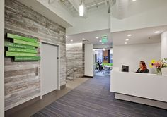 Milliken's Fixate collection featured in the award-winning Zipcar headquarters  II  Fixate Four Ways