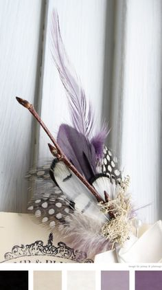 pretty feathers.