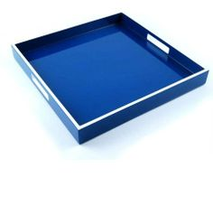 InStyle-Decor.com Gift Boxed Luxury Blue Tray $195 Highest Quality Wooden Designs, Perfect Blue Coffee Table Tray, Blue Ottoman Tray, Blue Serving Tray, Blue Breakfast Tray, Blue Vanity Tray, Blue Dressing Table Tray, Blue Desk Tray, Blue Drinks Tray, Blue Cocktail Tray, Part of Set Matching Blue Trays & Blue Gift Boxes, Check Out Our On Line Store for Over 3,500 Luxury Designer Furniture, Lighting, Decor & Gift Inspirations, Enjoy