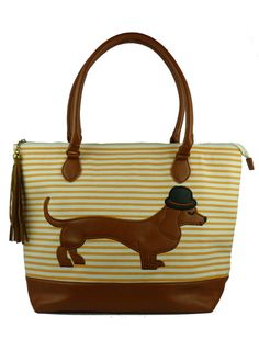 Mr Sausage Dog Day Bag - adorable!