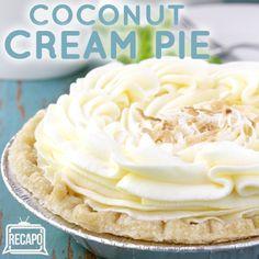 The Chew: Clinton Kelly Coconut Crumble Pie Recipe