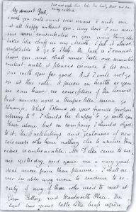 john keats last letter to fanny