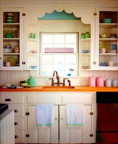 Quaint #cottage #kitchen