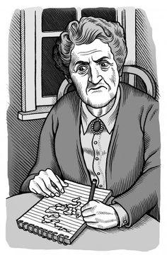 Agatha Christie Mario Zucca illustration