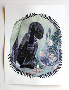 watercolor art, watercolor animals, word of wisdom, art paintings, animal illustrations