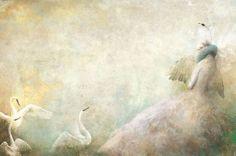 lui gabriel, gabrielpacheco, pacheco swan, illustrations, art, lakes, fairi tale, swan lake, gabriel pacheco