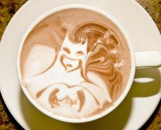 Batman barista!