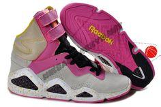 Cheap Buy Reebok CL Chi-Kaze Basquiat Grey Pink Black Womens shoes Halloween Discounts