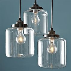 60W E27 Iron Pendent Light with 3 Lights