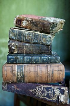 The love of old books...