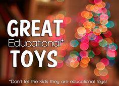 Educational Toys Kids Love #spon