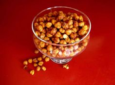 roasted spiced chickpeas recipe - pumps & iron roast chickpea, chickpea recipes, healthy snacks, spice chickpea, food, coconut oil, eat, chickpeas, roast spice