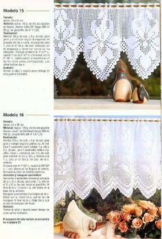 crochet - cortinas - curtains - Raissa Tavares - Álbumes web de Picasa