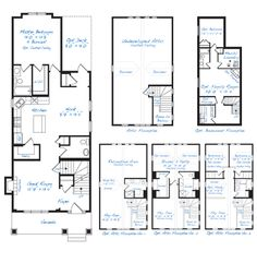 Floor Plans On Pinterest Bonus Rooms Models And Pantries