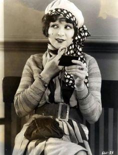 mothgirlwings:    Clara Bow - c. 1920's