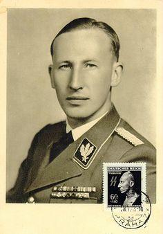 Postcard photo of Reinhard Heydrich