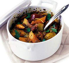 Moroccan veggie tagine recipe - delish!