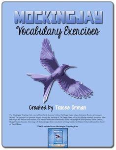 #Mockingjay Novel Vocabulary Activities & Presentation 1:1 #edtech #flipped written word, hunger game, middl school, english teach, school poetri, teach resourc