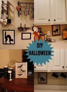 DIY Halloween : DIY Halloween Silhouette Pictures : DIY Halloween Decor