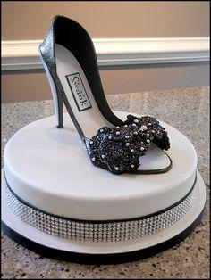 Designer High Heel Shoe Cake!!!