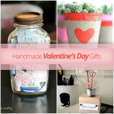 Handmade Valentine's Day Gifts valentine day gifts