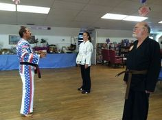 This senior center teaches excercise classes, including Zumba and... Tae Kwon Do!   Tae Kwon Do exercises can help improve balance and coordination, prevent falls and extend peripheral vision.