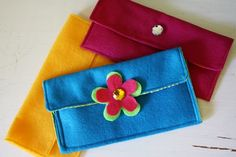 Felt purse - could also be a pencil case